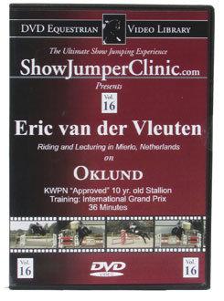 DVD Equestrian Video Library Show Jumping Eric van der Lueuten on Oklund Best Price