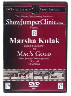 DVD Equestrian Video Library Show Jumping Marsha Kulak on Mac's Gold Best Price