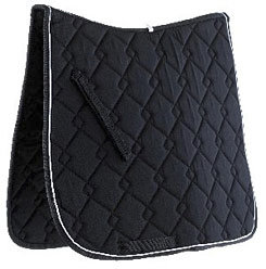 Roma Collection Fancy Diamond Quilt Dressage Pad Picture