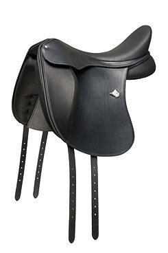 The Bates Innova Dressage Saddle - Long Flap