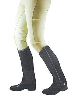 Dublin Easy-Care Mesh Half Chaps Best Price