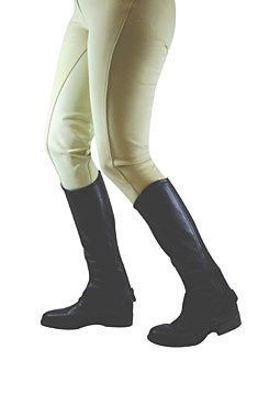 Dublin Flexi Leather Half Chaps Best Price