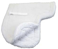 Roma Fleece Top/Quilted Bottom All Purpose Saddle Pad Best Price