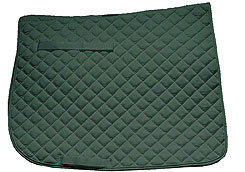 Roma Quilted Dressage Saddle Pad Picture