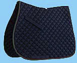 Roma Quilted Two-Tone Binding All Purpose Saddle Pad