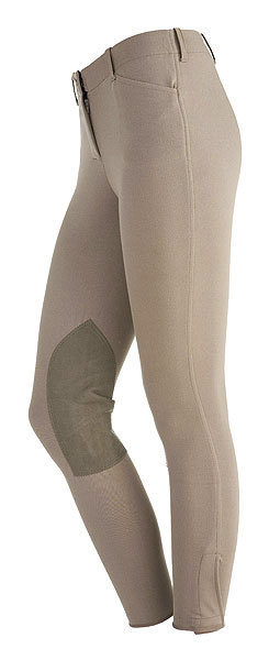 On Course Ladies Premier Front Zip Riding Breeches