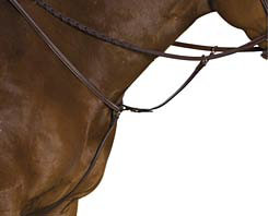 Collegiate Raised Breastplate Running Martingale