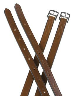 Crosby Oak Bark Stirrup Leathers