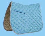 Rome Ecole Diamond Wave Quilt CC Saddle Pad