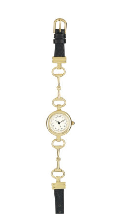Tempi Ladies  Gold Jumper Snaffle Bit Watch Best Price