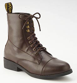 Saxon Ladies Synthetic Equileather Lace Paddock Boots Best Price
