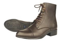 Dublin Ladies Victory Lace Up Paddock Boots Best Price