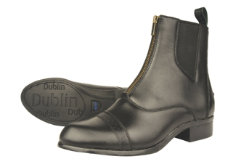 Dublin Ladies Assurance Zip Front Paddock Boots Best Price
