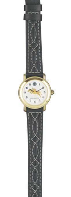 Tempi Ladies Hunter Jumper Stitched Band Watch Best Price