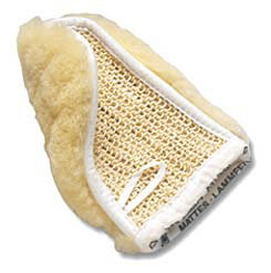 Mattes Sheepskin Mitt with Knitted Cactus Best Price