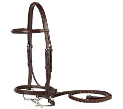 Vespucci Square Raised Hunter Bridle