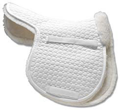 Mattes All Purpose Contour Saddle Pad with Sheared Flaps Best Price