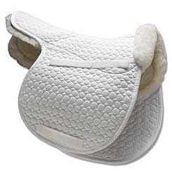 Mattes All Purpose Contour Saddle Pad with Bare Flaps. Best Price