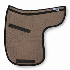 Mattes All Purpose Contour Quilt Only Saddle Pad with Pockets for Shims Best Price