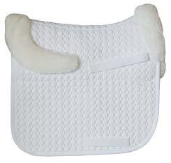 Mattes Dressage Square Pad with Bare Flaps and Rear Trim Best Price