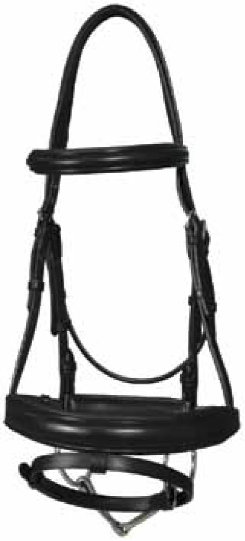 Vespucci Traditional Weymouth Bridle with Reins Best Price