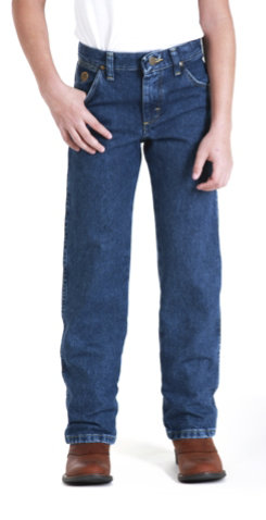 Wrangler Boys Cowboy Cut George Strait Regular Cut Jeans (13JGSHD) Best Price