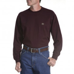 Riggs Workwear Mens Long Sleeve Pocket Tee Best Price