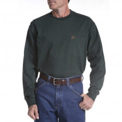 Riggs Workwear Mens Big and Tall Long Sleeve Pocket Tee Best Price