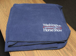 Washington International Horse Show Fleece Throw Blanket Best Price