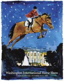 Washington International Horse Show Poster Best Price