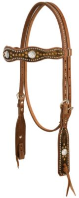 Weaver Renegade West Scalloped Browband Headstall