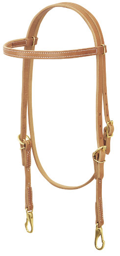 Weaver Single-Ply Browband Trainer Headstall