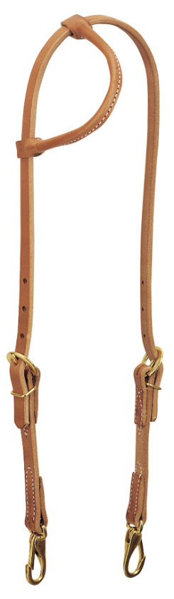 Weaver Rolled Sliding Ear Trainer Headstall