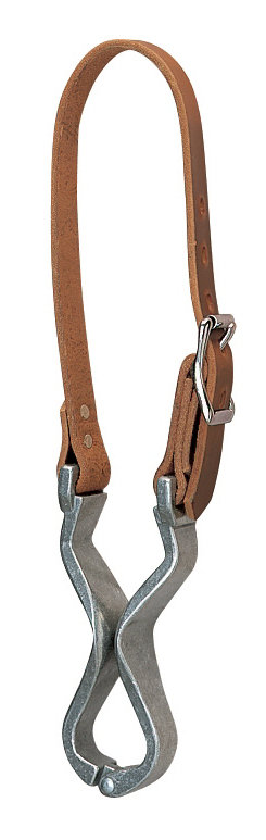 Weaver Nutcracker Cribbing Collar with LeatherStrap
