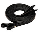 Weaver Black Leather Split Reins