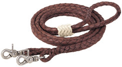Weaver Rounded Braided Latigo RoperReins