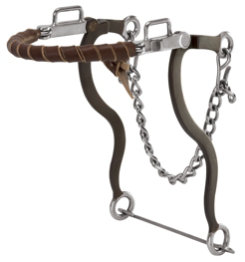 Weaver Latigo Leather Wrapped Hackamore
