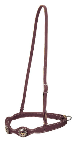 Weaver Texas Star Scalloped Noseband