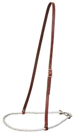 Weaver Rope and Latigo Leather Noseband Best Price
