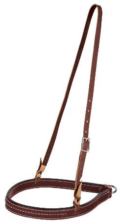 Weaver Bridle Leather Noseband with Spots Best Price