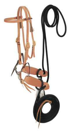 Weaver Harness Leather Bridle with Mecate Best Price