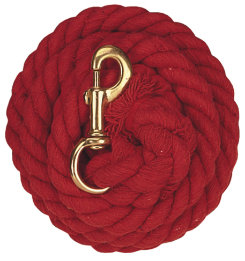 Weaver Solid Colored Cotton Lead Rope