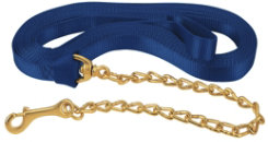 Weaver Flat 30' Nylon Lunge Line with Chain