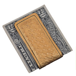 Sarah Weaver Basketweave Magnetic Money Clip Best Price