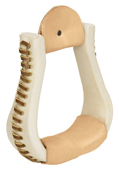 Weaver Rawhide Covered Bell Stirrups Best Price