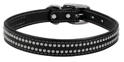Weaver Back in Black 1 Dog Collar Best Price