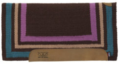 Weaver Tri-Border Fleece Bottom Memory Foam Saddle Pad Best Price