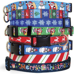 Yellow Dog Design Holiday Standard Dog Collars Best Price