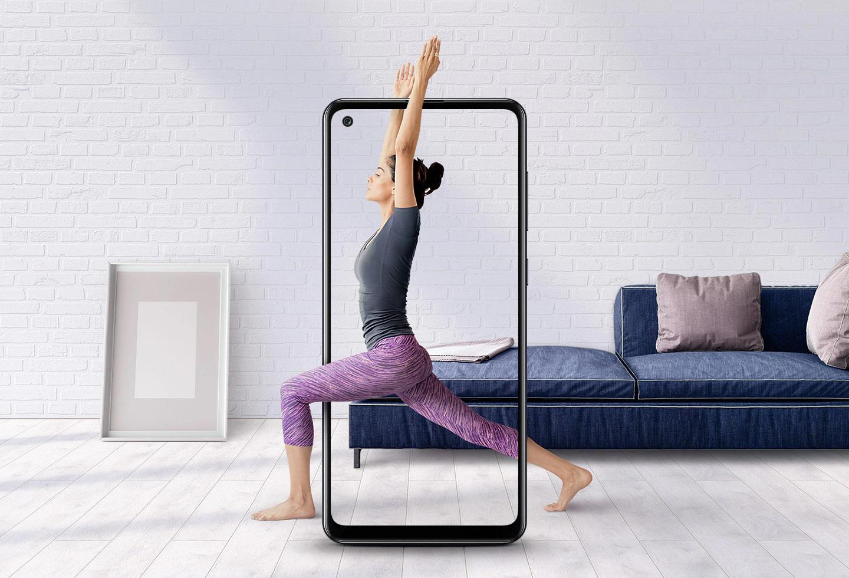 Infinity-U display