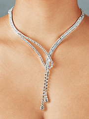 Buy Rhinestone Loop Necklace, see details about this Sexy Lingerie and more